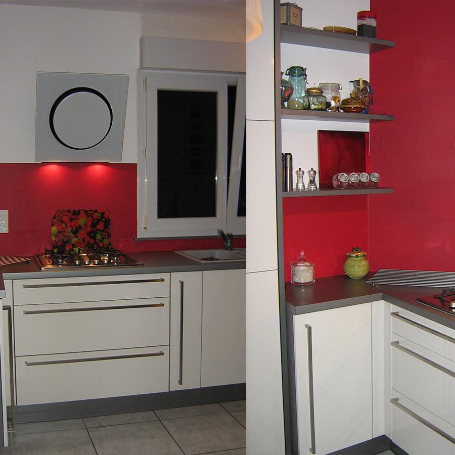 D tail t moignage cuisine for Cuisine blanche et rouge
